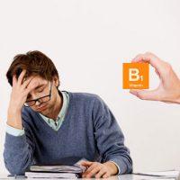 علائم کمبود ویتامین B1